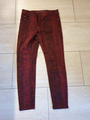 Jeans rot/schwarz Gr.40 C&A Neu
