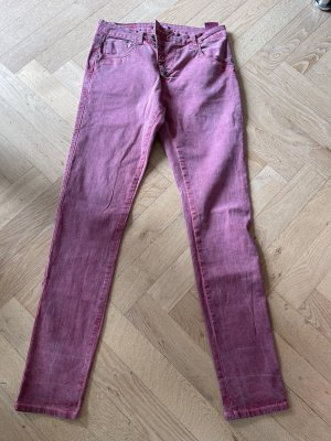 place du jour Jeans boyfriend violet