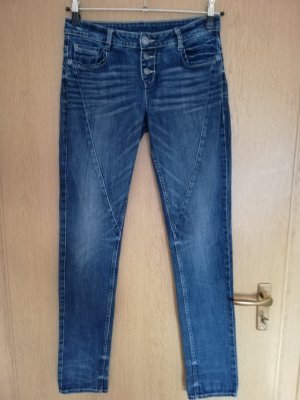 s.Oliver Pantalon cinq poches bleu foncé