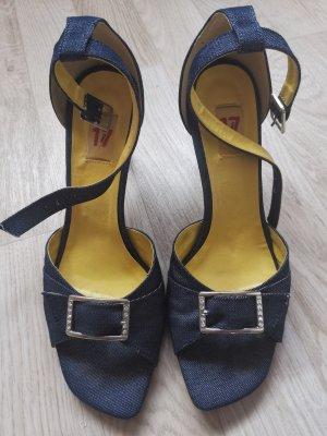 Jeans-Sandalen Gr.40