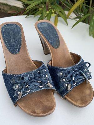 Jeans Sandaletten