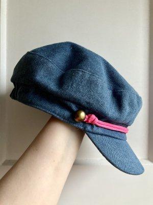Jeans-Schirmmütze in Blau von Loevenich