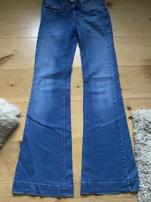 TRF Denim Denim Flares blue