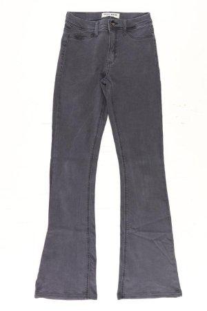 Jeans a zampa d'elefante multicolore