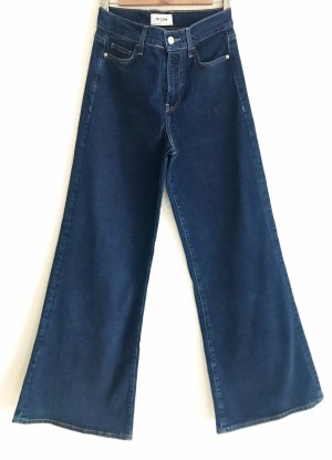 TRF Denim Denim Flares dark blue