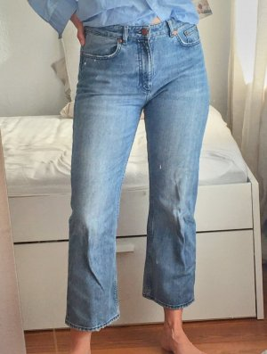 H&M 7/8 Length Jeans light blue-azure
