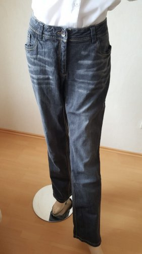 Jeans schwarz Anthrazit 44 Cécilia Classic