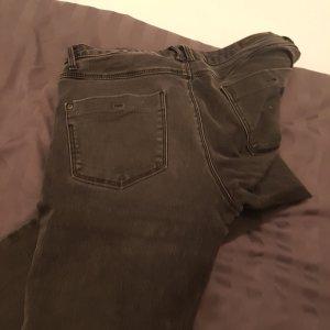 jeans schwarz grau stretch