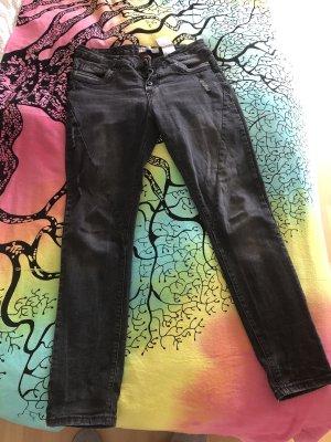 Jeans, schwarz, Größe 38/40