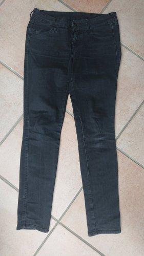 Jeans schwarz hüftig