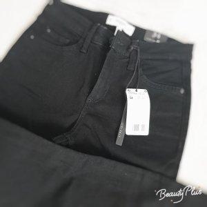 Mango Denim & Tees Jeans met rechte pijpen zwart
