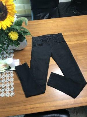BlendShe Skinny Jeans anthracite cotton