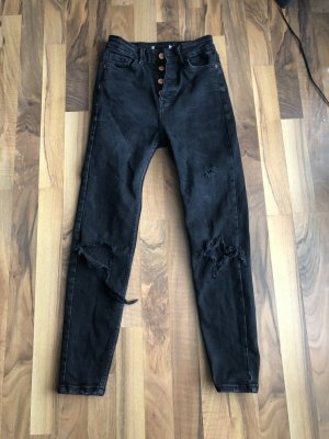 Jeans schwarz - Pull and Bear
