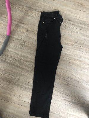 Jeans schwarz Risse