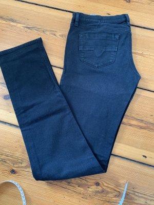 Jeans, Schwarz, Röhre, Diesel 32/36