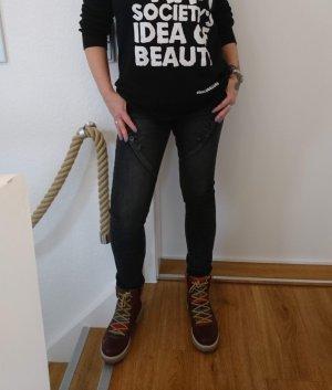 Jeans schwarz von Zac&Zoe Gr. 40