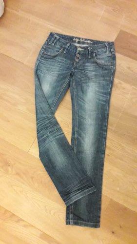 Big Blue Tube Jeans blue