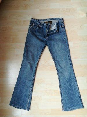 Jeans, selten!