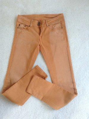 Jeans / Senfgelb-ocker / Gr. 36 S / NEU