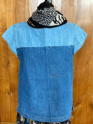 C&A Denim Shirt azure-baby blue