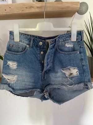 Jeans Shorst im used look