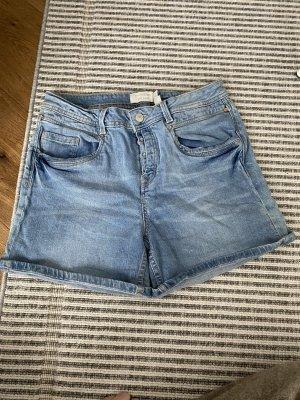 Tom Tailor Pantaloncino di jeans azzurro