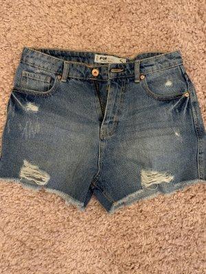FB Sister Denim Shorts light blue