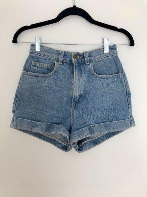 Jeans-Short high waist Gr.25