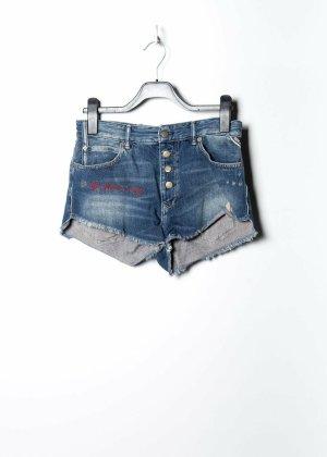 Replay Hot pants blu Denim