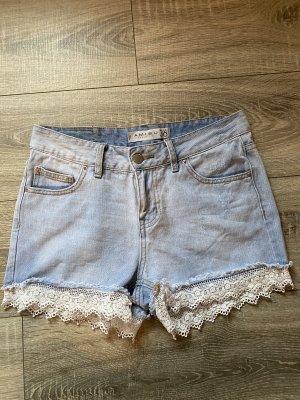 Amisu Shorts light blue