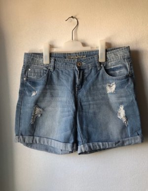 Denim Co. Short en jean multicolore