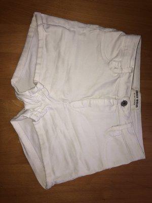 Tally Weijl Pantalón corto de tela vaquera blanco