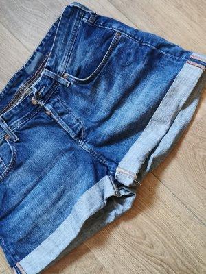H&M Hot pants staalblauw
