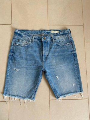 All Saints Pantaloncino di jeans blu fiordaliso-azzurro