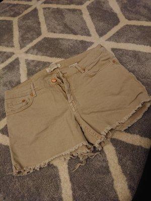 jeans shorts beige
