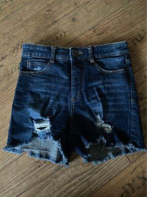 C&A Denim Shorts dark blue