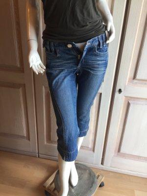 Mango Jeans vita bassa multicolore Cotone
