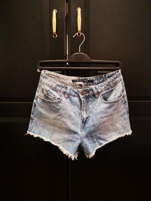 Jeans Shorts hellblau