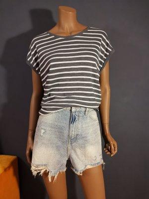Jeans shorts, High - Waist - Shorts