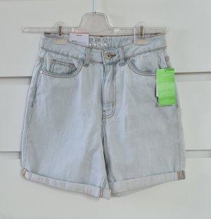 Jeans Shorts Highwaist - Größe 36 S - neu - Hellblau