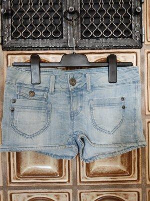 Jeans Shorts Hotpants Only hellblau 28