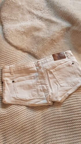 Jeans Shorts in weiß