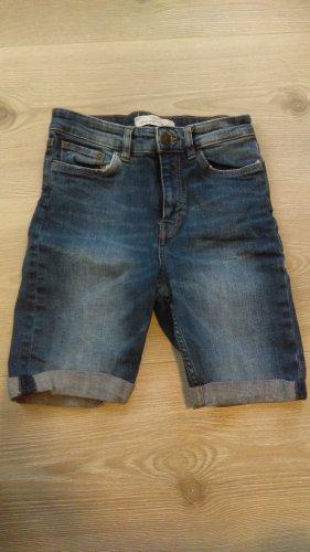 Jeans Shorts knielang