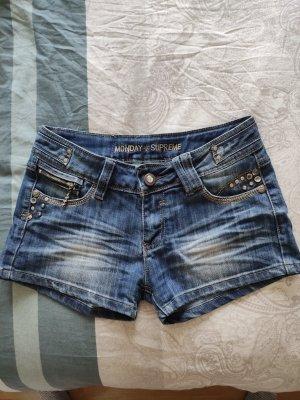 Monday Pantaloncino di jeans blu