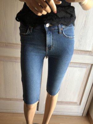 Jeans Shorts Mango 34 blau