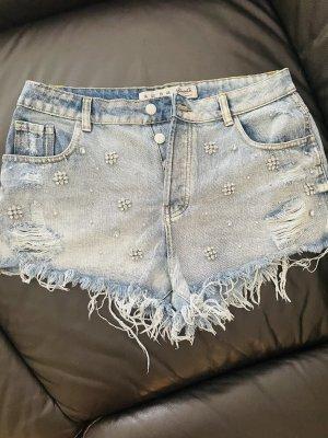 Denim Co. Pantaloncino di jeans azzurro