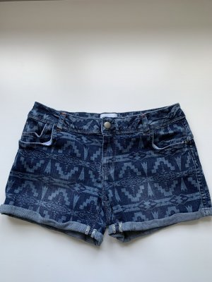 Jeans Shorts mit Muster