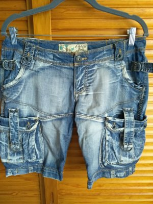 Celebrity Short en jean multicolore