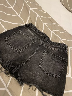 Jeans shorts // momjeans