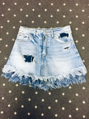 Jeans Shorts/ Rock hellblau Damen Größe 34 *Neuwertig*